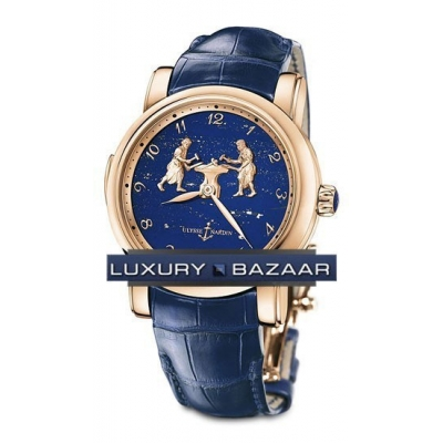 Ulysse Nardin Forgerons Minute Repeater (Blue / RG) 716-