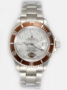 Rolex SUBMARINER Full 18K White Gold Silver Dail