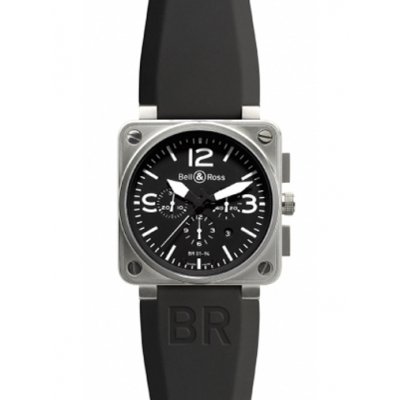Bell & Ross BR01-94 Chronograph 46mm Watch BR01-94 Steel