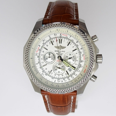 Breitling Watches Bentley T Leather Strap