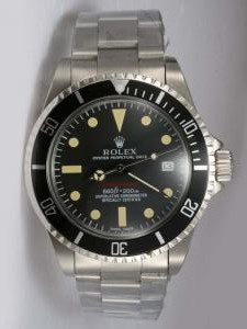 Replica Rolex SUBMARINER Full 18K White Gold Black Dial