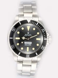 Rolex SUBMARINER Comex Full 18K White Gold Black