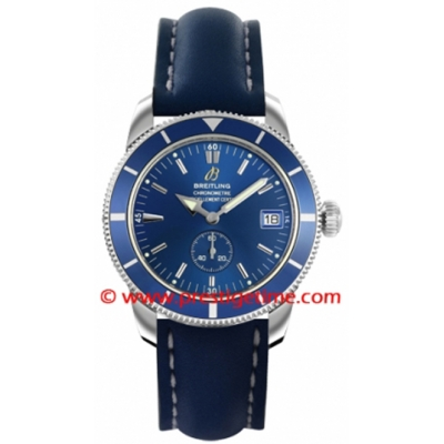 Breitling Superocean Heritage 38 Blue Dial Men's Watch A3732016-C735SS